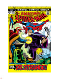 The Amazing Spider-Man No.109 Cover: Spider-Man, Dr. Strange, and Flash Thompson Wall Decal by John Romita Sr.