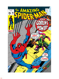 The Amazing Spider-Man No.98 Cover: Green Goblin and Spider-Man Fighting Wall Decal by Gil Kane