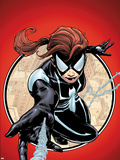 Spider-Island: The Amazing Spider-Girl No.1 Cover: Spider-Girl Swinging and Shooting Wall Decal by Patrick Zircher