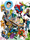 Marvel Visionaries: John Romita: Spider-Man Wall Decal by John Romita Sr.