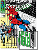 The Amazing Spider-Man No.65 Cover: Spider-Man Charging Posters by John Romita Sr.