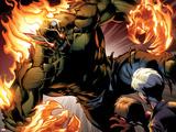 Ultimate Spider-Man No.159: Green Goblin Flaming Znaki plastikowe autor Mark Bagley