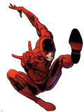 The Amazing Spider-Man No.566 Cover: Daredevil Wall Decal by Phil Jimenez