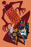 The Superior Foes of Spider-Man 1 Cover: Shocker, Beetle, Boomerang, Overdrive, Speed Demon Plastic Sign by Marcos Martin