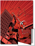 Friendly Neighbourhood Spider-Man No.1 Cover: Spider-Man Posters by Mike Wieringo
