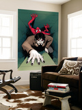 Morbius: the Living Vampire 6 Cover: Spider-Man, Morbius Wall Mural by David Lopez