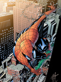 Spectacular Spider-Man No.13 Cover: Spider-Man Plastic Sign by Scott Damion