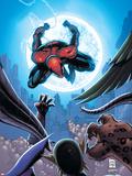 Marvel Adventures: Spider-Man No.2 Cover: Spider-Man Plastic Sign by Patrick Scherberger