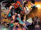 The Amazing Spider-Man No.545 Group: Spider-Man, Parker, Peter, Mary Jane Watson, and May Parker Wall Decal by Joe Quesada