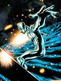 Silver Surfer No.12 Cover: Silver Surfer Wall Decal