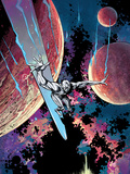 Silver Surfer: In They Name No.3 Cover: Silver Surfer Posters by Paul Pope