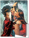 The Amazing Spider-Man No.545 Cover: Spider-Man, Peter Parker, and Mary Jane Watson Prints by Joe Quesada