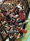 Spider-Man 1602 No.2 Cover: Spider-Man Jumping Cartel de plástico por Michael Golden