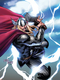 Thor No.604 Cover: Thor Plastic Sign by Billy Tan