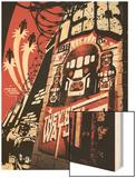 X-Men: The 198 No.2 Cover: Sentinel Wood Print by Jim Muniz
