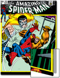 The Amazing Spider-Man No.111 Cover: Spider-Man, Gibbon and Kraven The Hunter Art by John Romita Sr.