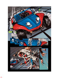 The Amazing Spider-Man No.647: Panels with Spider-Man Wall Decal by Max Fiumara