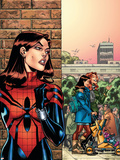 Amazing Spider-Girl No.26 Cover: Spider-Girl Plastic Sign by Ron Frenz
