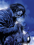 The Amazing Spider-Man #526 Cover: Spider-Man and Morlun Plastikskilte af Mike Deodato