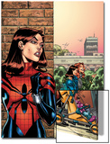 Amazing Spider-Girl No.26 Cover: Spider-Girl Posters by Ron Frenz