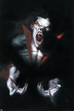 Morbius: the Living Vampire 1 Cover: Morbius Signe en plastique rigide par Gabriele DellOtto