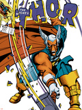 The Mighty Thor No.337 Cover: Beta-Ray Bill Plastic Sign by Walt Simonson