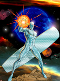 Silver Surfer No.13 Cover: Silver Surfer Swinging Wall Decal