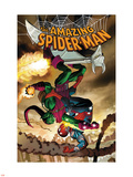 The Amazing Spider-Man No.571 Cover: Spider-Man and Green Goblin Plastic Sign by John Romita Jr.