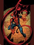 Ultimate Spider-Man No.86 Cover: Spider-Man Znaki plastikowe autor Mark Bagley