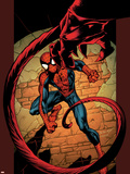 Ultimate Spider-Man No.86 Cover: Spider-Man Plastic Sign by Mark Bagley