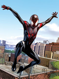 Ultimate Comics Spider-Man No.5: Spider-Man Jumping Wall Decal by Sara Pichelli