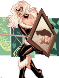 Amazing Spider-Man Presents: Black Cat No.4 Cover: Black Cat Standing Plastic Sign by Amanda Conner
