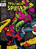 Spectacular Spider-Man No.200 Cover: Spider-Man and Green Goblin Plastic Sign by Sal Buscema
