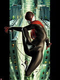 Ultimate Spider-Man No.2 Cover: Spider-Man Swinging Wall Decal by Kaare Andrews