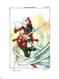 Spider-Man: The Clone Saga No.4 Cover: Spider-Man and Scarlet Spider Plastic Sign by Tom Raney