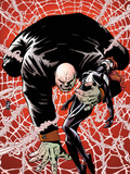 Spider-Island: The Amazing Spider-Girl No.2 Cover: Kingpin Crawling with Spider-Girl Plastic Sign by Patrick Zircher