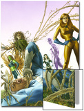 Son Of M No.3 Cover: Quicksilver and Crystal Prints by Roy Allan Martinez