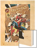 Untold Tales Of Spider-Man No.1 Cover: Spider-Man Wood Print by Pat Olliffe