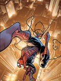Marvel Adventures Spider-Man No.44 Cover: Spider-Man Wall Decal by Zach Howard