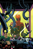 Superior Spider-Man Team-Up 5 Cover: Spider-Man, Vulture, Electro, Sandman, Green Goblin, Kingpin Wall Decal by Paolo Rivera