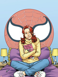 Spider-Man Loves Mary Jane Season 2 No.5 Cover Plastic Sign by Terry Moore