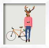 Fashionable Hipster Deer Posters by  run4it