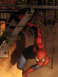 Marvel Adventures Spider-Man No.41 Cover: Spider-Man Plastic Sign by Sean Murphy