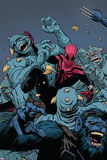 Superior Spider-Man Team Up 3 Cover: Spider-Man Plastic Sign by Paolo Rivera