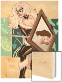 Amazing Spider-Man Presents: Black Cat No.4 Cover: Black Cat Standing Wood Print by Amanda Conner