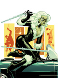 Amazing Spider-Man Presents: Black Cat No.3 Cover: Black Cat Jumping Wall Decal by Amanda Conner