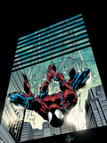 Amazing Spider-Man No.514 Cover: Spider-Man Plastikskilte af Mike Deodato