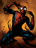 Ultimate Spider-Man No.125 Cover: Spider-Man Plastic Sign by Stuart Immonen