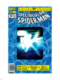 The Spectacular Spider-Man No.189 Cover: Spider-Man Wall Decal by Sal Buscema