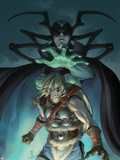 Thor Son Of Asgard No.11 Cover: Thor and Hela Plastic Sign